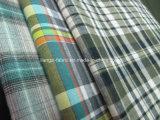 Fils de coton teint Peached tissu à armure toile