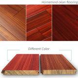 Настил твёрдой древесины Okan/твердый деревянный настил с красным цветом