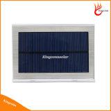 21 luzes de parede de sensor de movimento PIR de energia solar LED com 3 luzes de indicador LED para iluminação de jardim ao ar livre