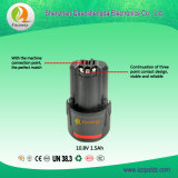 Het nieuwe Pak van de Batterij van de Hulpmiddelen 1.5ah van de Aankomst 10.8V Elektrische lithium-Ionen