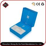 Contenitore di carta impaccante personalizzato di regalo di rettangolo di colore