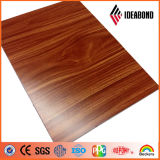 comitato composito di alluminio di rivestimento del legno di esterno di 3mm-6mm (AE-306)