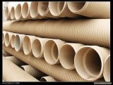 Goody la calidad de la pared del tubo de PVC doble fuelle
