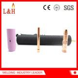Wp18fv flexible de soldadura TIG antorcha con válvula de argón