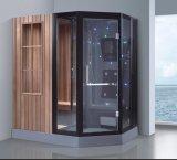 Combiné à la vapeur d'un sauna avec douche (à-d8865B)