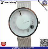 Yxl-355 marca de moda Assista a malha de aço inoxidável Paidu Mens de Correia de Pulso Relógios de quartzo Multifunção
