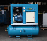 Compresseur d'air compact à faible bruit stationnaire de vis (KA11-10D)