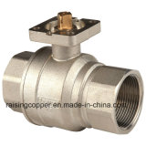 Ball Valve for Actuator with Mounting Pad