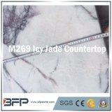 M289 Purple Jade geladas bancada para casa de banho em mármore bancada recepcionista