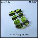 Hohe Sicherheit der 810nm 980nm 1064nm Lasersicherheits-Glas-Laser-Schutzbrillen für Laser der Dioden-800-1100nm und Nd: YAG Laser mit Spant 33
