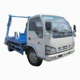 Isuzu 600p petite 4m3 de 5 tonnes le bras pivotant pour la vente de camions à ordures