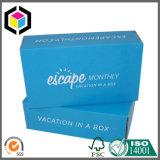 習慣の折るカラーによって印刷されるボール紙の紙箱