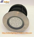 Luz clara subterrânea ao ar livre do diodo emissor de luz do CREE 6W em IP67
