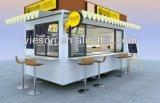 Carro del alimento del acoplado del alimento de Ys-400A Churros para la venta la Arabia Saudita