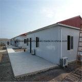 Prefabricated 강철 빠른 피난민 집을 조립한다