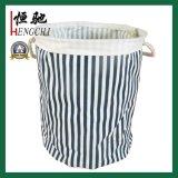 世帯の防水綿の洗濯の障害の洗濯の記憶のバスケット