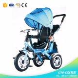 金属の三輪車の幼児の三輪車の赤ん坊の三輪車