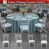 Foshan 결혼식 가구 백색 Tiffany 의자 Yc-A21-113