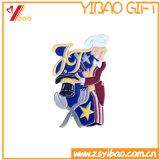 Insigne de Pin de revers de broche de logo/cadeau faits sur commande de souvenir chevilles en métal (YB-HD-68)
