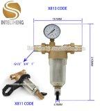 1/2 дюйма до 1 дюйма водяного фильтра предварительной очистки воды в системе
