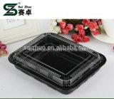 500ml 처분할 수 있는 플라스틱 음식 초밥 포장 상자 (S815)