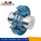 軸方向に取付けられたタイプ適用範囲が広いギヤ格子カップリングを収容する