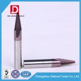 Utensili per il taglio del laminatoio di estremità del filetto del carburo di tungsteno per funzionamento del metallo