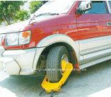 交通安全の手段のための鋼鉄黄色い車輪クランプの車輪ロック
