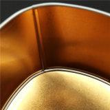 Caixa colorida do estanho do Natal do metal da impressão (T001-V20)