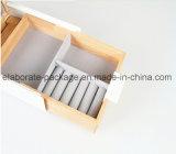 Emballage de bijoux Rentangle Boîte à cadeaux Boîte à bijoux en bois pour artisanat