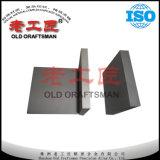 Placa del carburo cementado de la resistencia de desgaste de la placa del carburo de tungsteno K20 buena de Zhuzhou