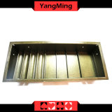 2 слоя казино покер таблица специализированной микросхеме лоток гибридный Стол ломберный чип плавающего положения с 4 ряда - круглые / квадратные Ym-CT18