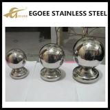 Boule ronde creuse en acier inoxydable pour décorations