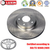 Rotor de frein à disque automobile remplaçant OEM pour Toyota