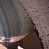 Ruspe spianatrici di ceramica del nastro trasportatore