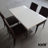 Tabella pranzante di pietra della resina moderna per mobilia vivente (1200X600mm)