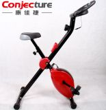 Equipamento Home da aptidão que dobra a X-Bicicleta magnética ereta do exercício