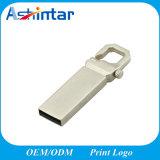 Mini movimentação impermeável do flash do USB do metal do flash da memória do USB