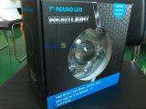 지프를 위한 까만 Daymaker 작풍 LED 투상 헤드라이트 장비 7 인치