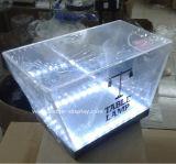 Venda por atacado plástica da cubeta de gelo da fábrica feita sob encomenda