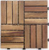 Azulejo de suelo de madera del acacia fácil de Intall