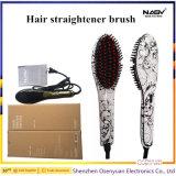 Hair Straightener brosse avec CE RoHS Certifacates FCC