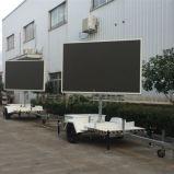 Outdoor En12966 Mobile Trailer Publicidad Pantallas LED