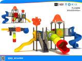 Парк развлечений пластиковые слайд-игровая площадка (YL24484)