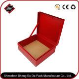 Rectángulo de empaquetado de encargo del papel del regalo de la casilla blanca