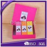 Boîte-cadeau lustrée de mariage de carton de décoration élégante de Bowknot