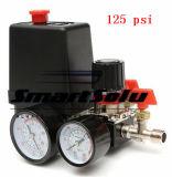 Port переключатель давления компрессора воздуха 125psi 1 с датчиками регулятора