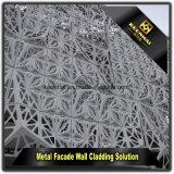 De buiten Bekleding van de Muur van de Voorzijde van het Aluminium van het Metaal Decoratieve
