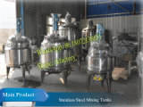 Stainless Steel (G-FL 36rpm 1.5KWの混合モーター)の500L Electric Heating Mixing Tank Made
