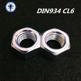 Noix Hex de DIN934 Cl6